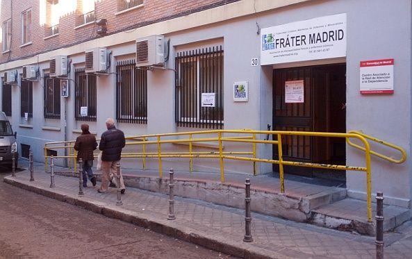 Entrada de Frater Madrid, en el número 30 de la calle Montserrat | Foto: S.M