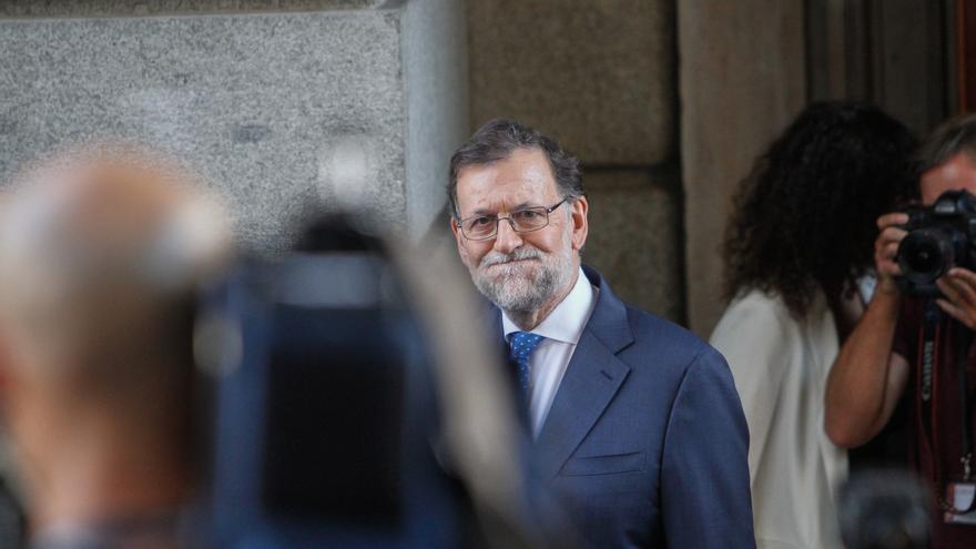 Mariano Rajoy a la espera del inicio de sesión de investidura