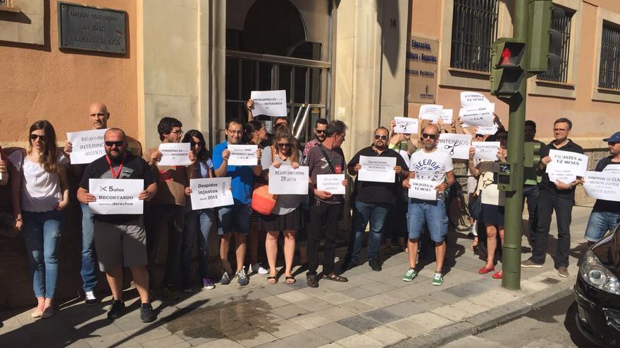 Concentración de docentes interinos en Cuenca