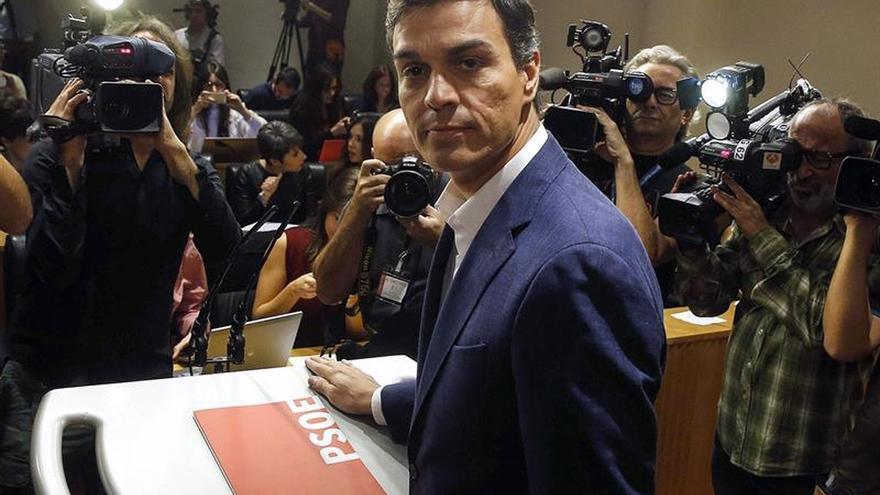 Sánchez: El cambio para Rajoy es un gobierno más reaccionario que el anterior