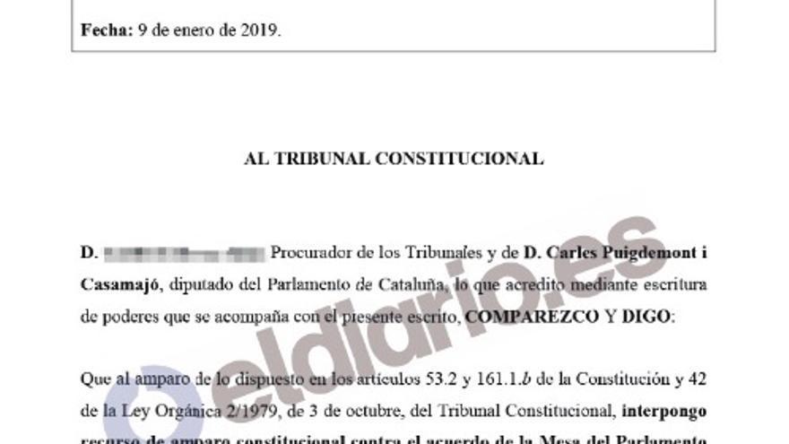documento puigdemont PORTADA