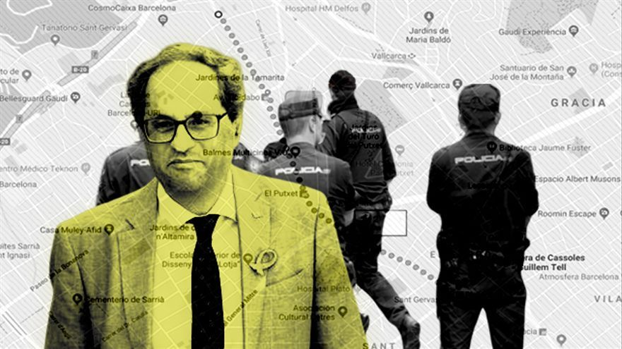 La seguridad del president de la Generalitat detectó seguimientos en el barrio de Sant Gervasi-Galvany de Barcelona