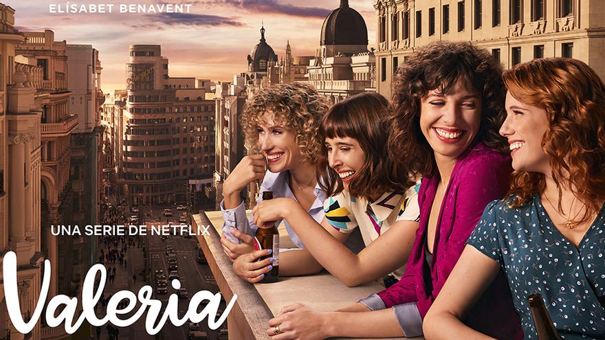 Netflix pone fecha a 'Valeria', su serie basada en las novelas de Elísabet Benavent