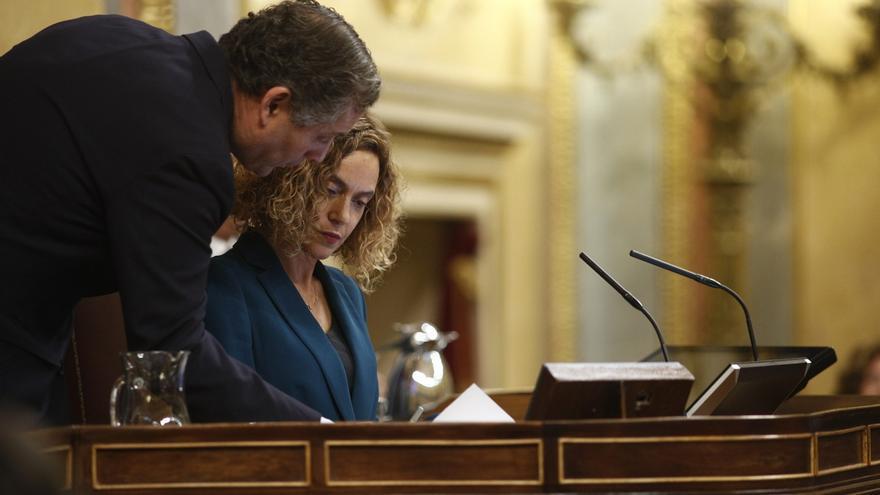 Batet acude hoy a Zarzuela para informar al Rey y luego fijará la primera reunión de la Mesa del Congreso