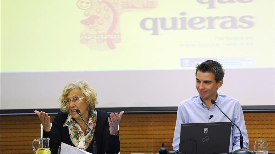 Carmena pone en marcha un sistema para llevar propuestas ciudadanas a los Plenos