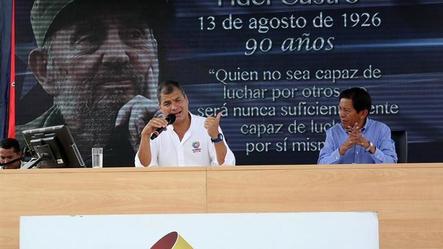 Ecuador prepara cruciales comicios a 10 años del vuelco electoral de Correa