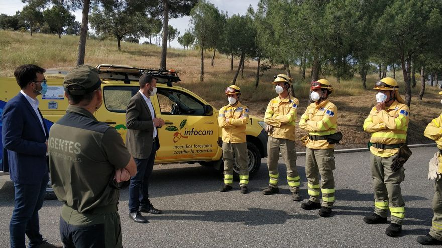 Incendios y pandemia: así se garantiza el plus de seguridad a los que luchan contra el fuego