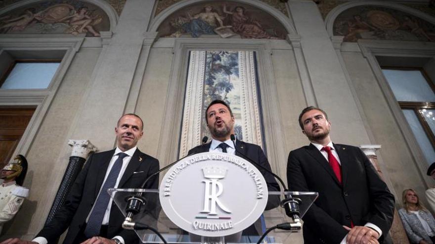 La Liga abre la puerta al M5S para volver a gobernar Italia.