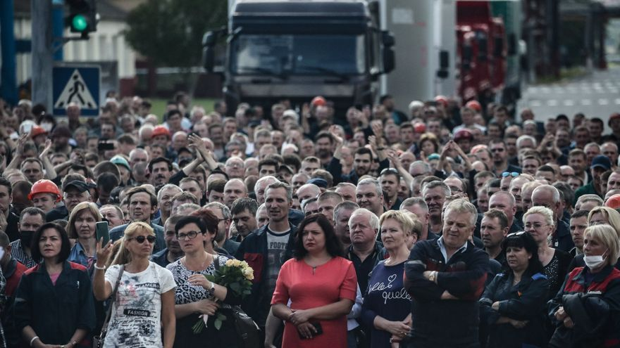 Tijanóvskaya pide fin de la violencia y continuar protestas pacíficas