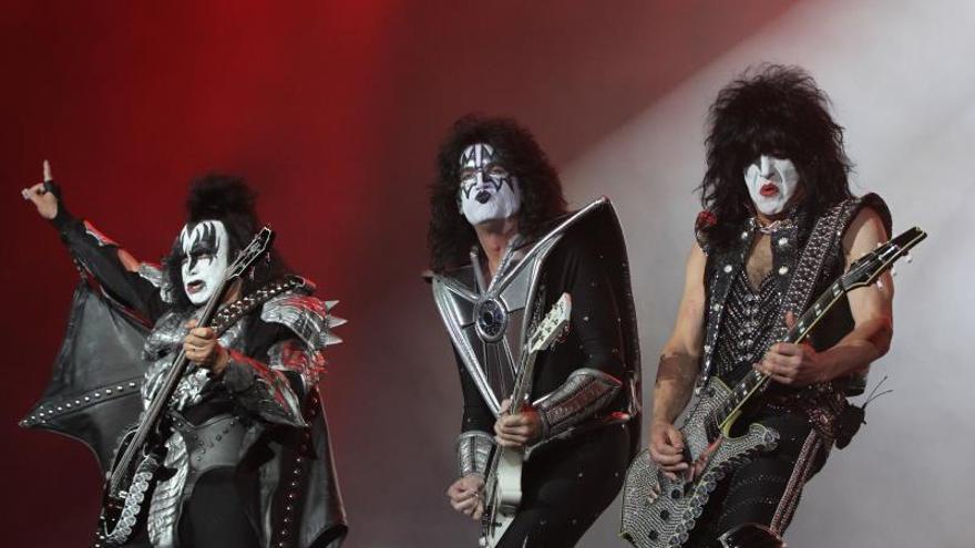 La banda estadounidense Kiss.