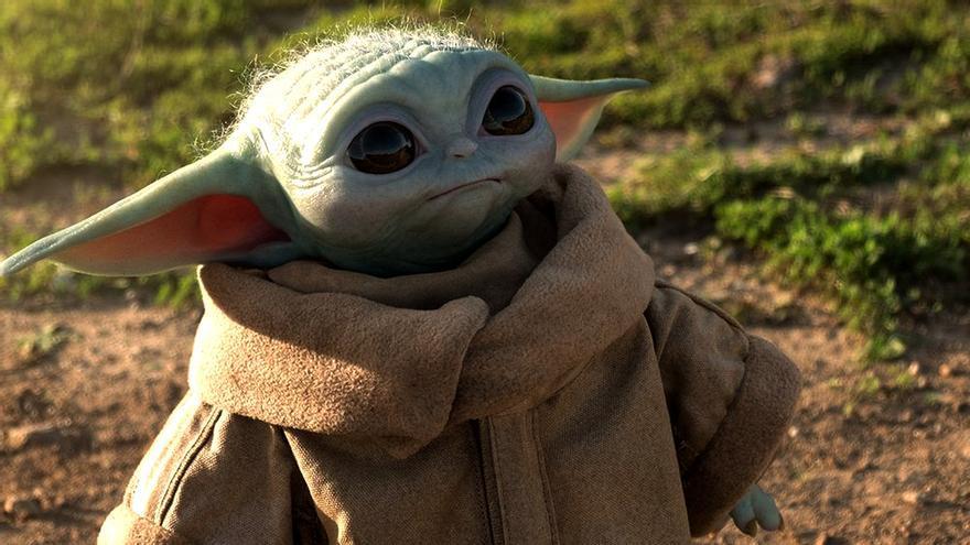 Baby Yoda (The Child) en 'The Mandalorian'