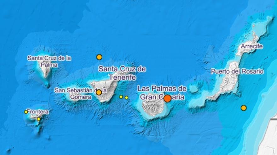 Movimientos de la tierra en Tenerife