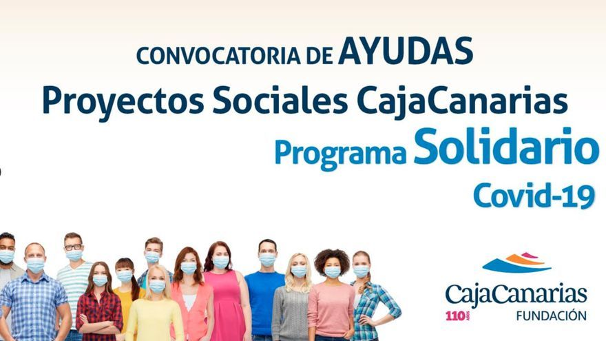 'Convocatoria de Ayudas a Proyectos Sociales'   de la Fundación CajaCanarias.