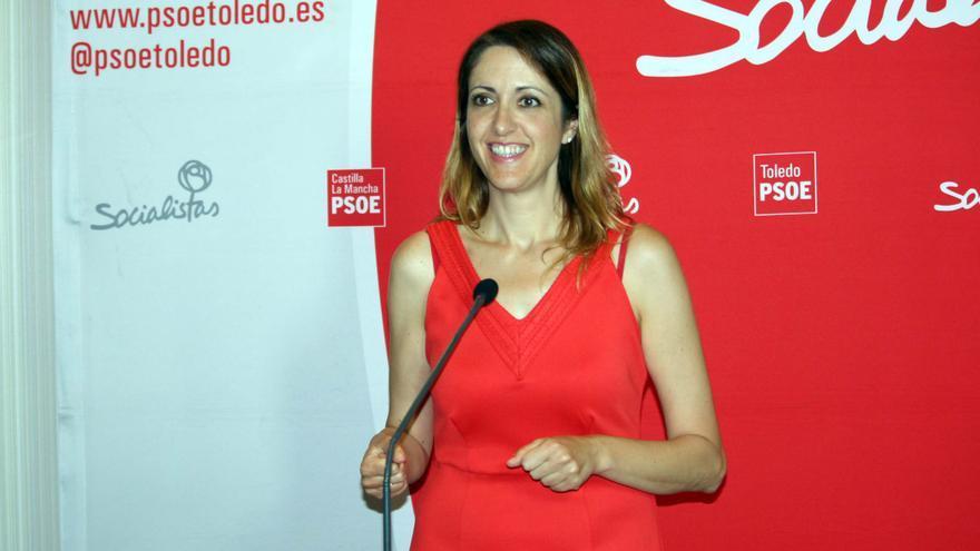Cristina Maestre, portavoz del PSOE de Castilla-La Mancha