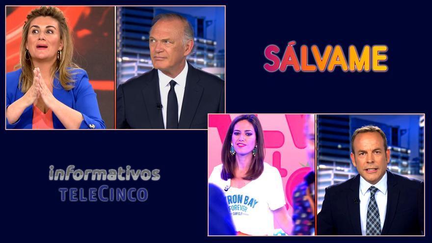 Las conexiones imposibles de 'Sálvame' con Informativos Telecinco