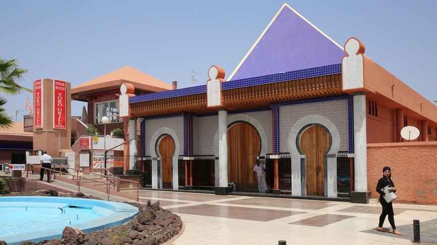 Mezquita ubicada en el sur grancanario.