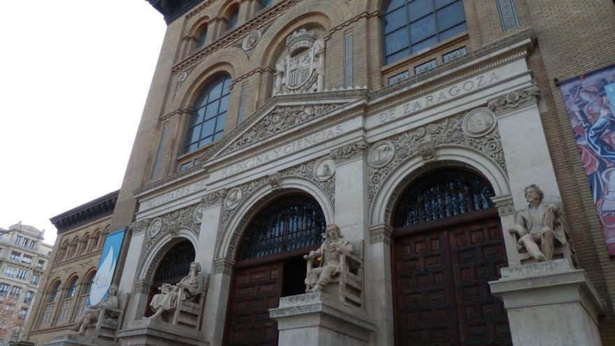 Paraninfo de la Universidad de Zaragoza.