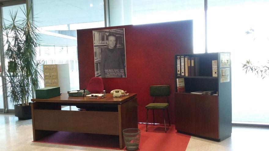 La Biblioteca de Navarra promueve una guía de lectura y una exposición sobre José María Jimeno Jurío