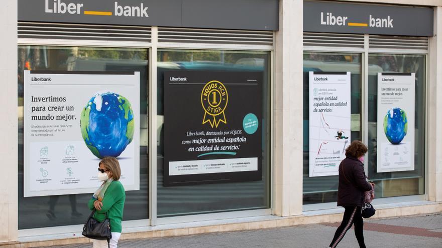 Liberbank gana un 16,8 % más hasta marzo tras dotar a provisiones 38 millones