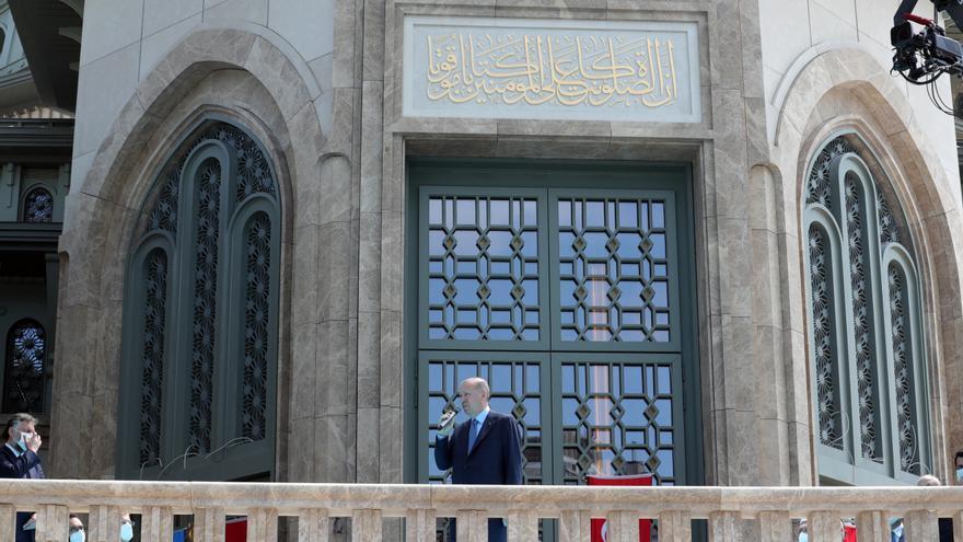 Erdogan inaugura una mezquita en una plaza simbólica para la izquierda turca