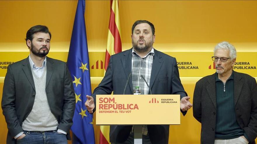 ERC advierte a Podemos que hay un 70 % de diputados en contra del referéndum