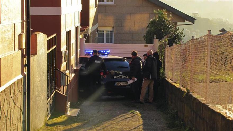 Registran la casa de los padres del detenido por el crimen de una joven en Vigo