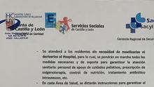 La Fiscalía archiva la investigación por no trasladar ancianos a los hospitales y se basa sólo en los documentos aportados por la Junta de Castilla y León