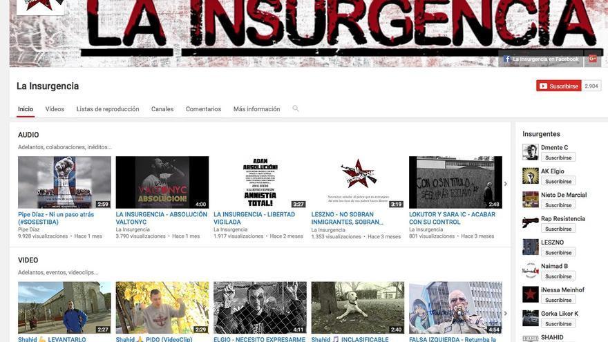 Canal de Youtube de La Insurgencia