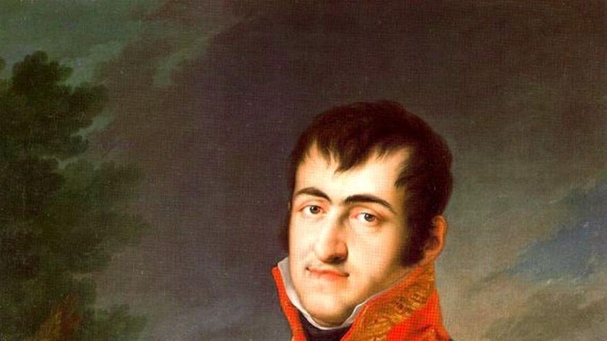 Retrato del rey Fernando VII de España (1784-1833) de Vicente López