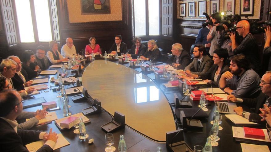 Forcadell defiende la Junta de portavoces y prevé que el texto de JxSí-CUP se vote la próxima semana