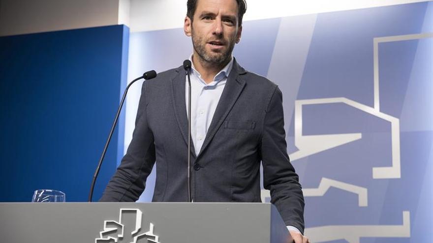 Pintan amenazas en el portal de una exconcejal del PP en San Sebastián