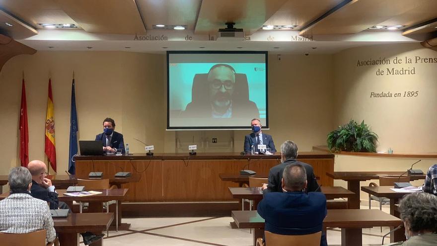 """Presentado el Observatorio de Ceuta y Melilla, del Instituto de Seguridad y Cultura, y un informe sobre cómo convertir la crisis """"en la mejor de las oportunidades""""."""