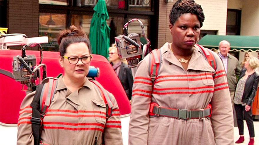Melissa McCarthy y Leslie Jones, las más criticadas de la nueva versión de la película