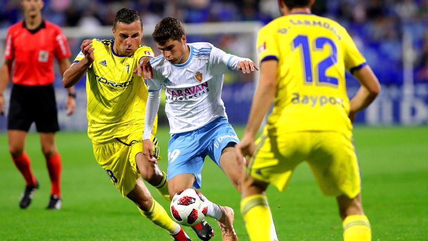 Zaragoza-Cádiz de Copa del Rey, en Gol
