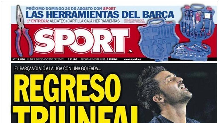 De las portadas del día (20/08/2012) #13