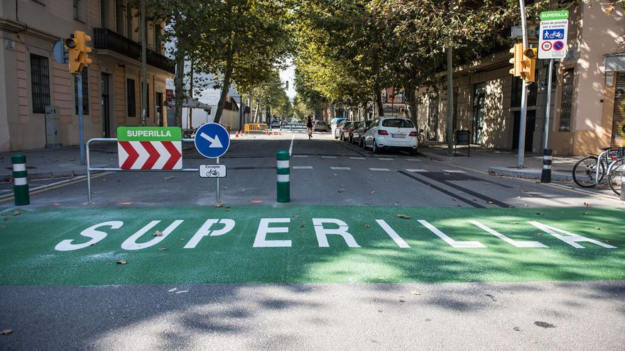 Superilles; Barcelona; movilitat