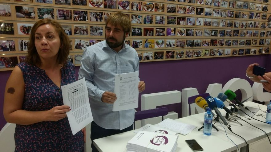 """Podemos Asturias lleva a Fiscalía documentos para demostrar la implicación"""" del Ayuntamiento de Aller en el 'caso Hulla'"""