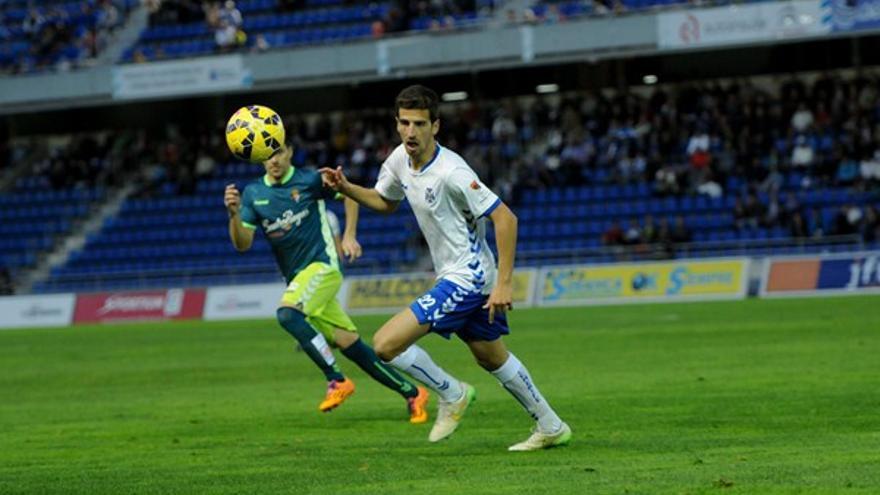 Juan Carlos Real, centrocampista del CD Tenerife.