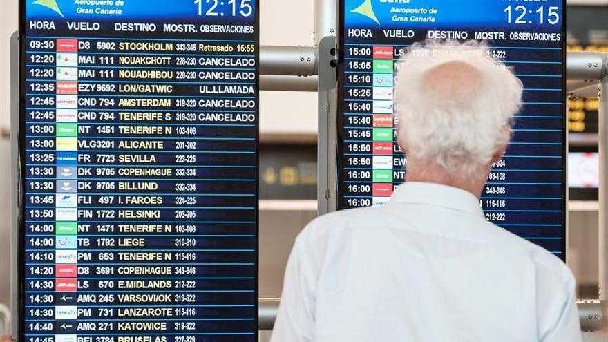 Aeropuerto de Gran Canaria.