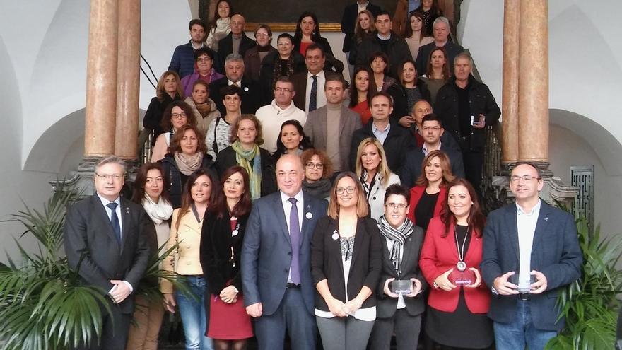Diputación entrega los Premios 'Label' a empresas e instituciones en el marco del 25N