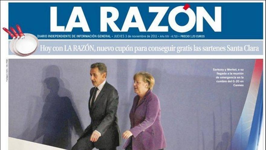 De las portadas del día (03/11/2011) #10