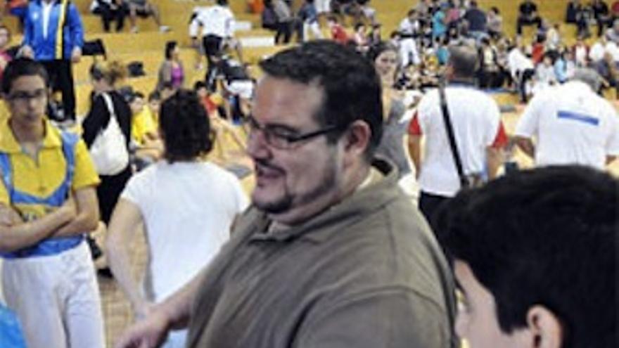 """Gabriel Santiago, """"Pollo del Molino"""". (luchagrancanaria.com)"""