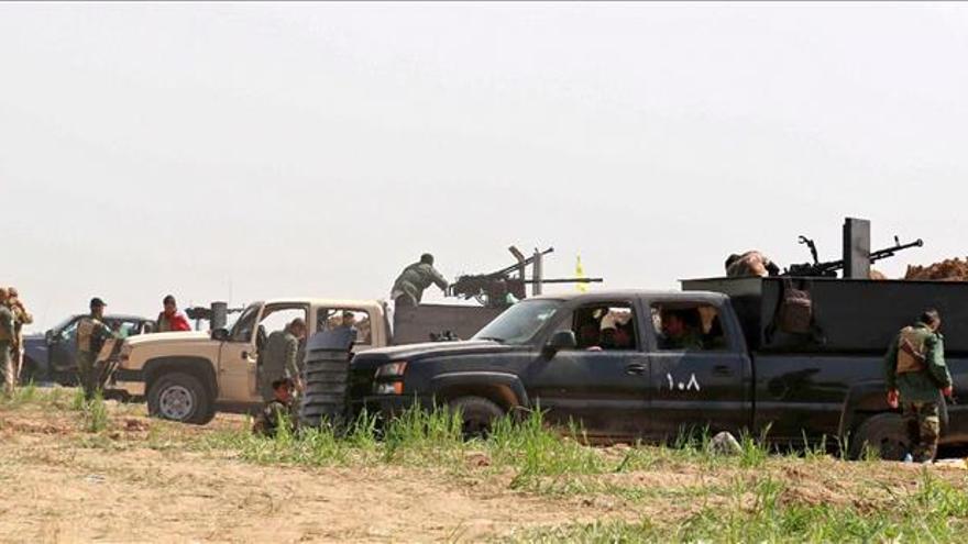 """El Ejército iraquí prepara su último asalto contra los """"suicidas"""" de Tikrit"""