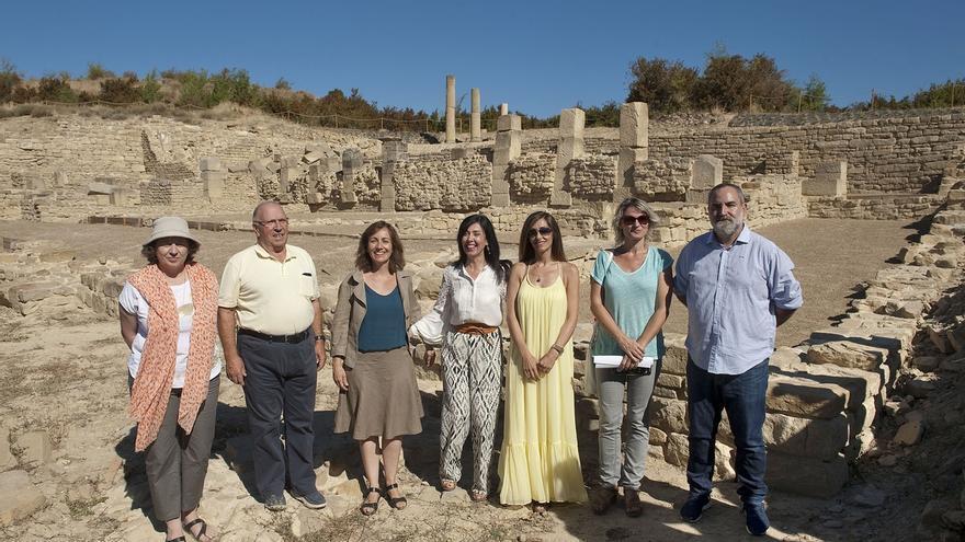 El yacimiento de Santa Criz desvela los secretos de la vida de una ciudad romana en Navarra entre los siglos I y V