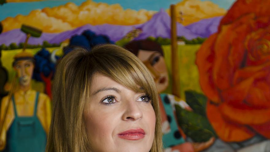 Piedad Álvarez, candidata en Almendralejo a las primarias municipales del PSOE