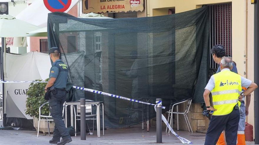 Un detenido en Benicàssim por el homicidio de un hombre en terraza de un bar