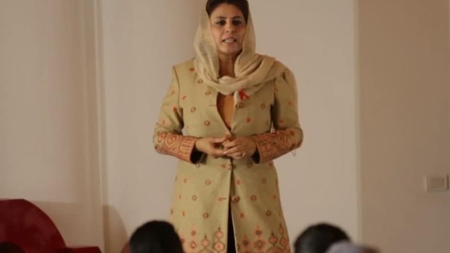 Zakia Wardak, candidata a las próximas elecciones en Afganistán