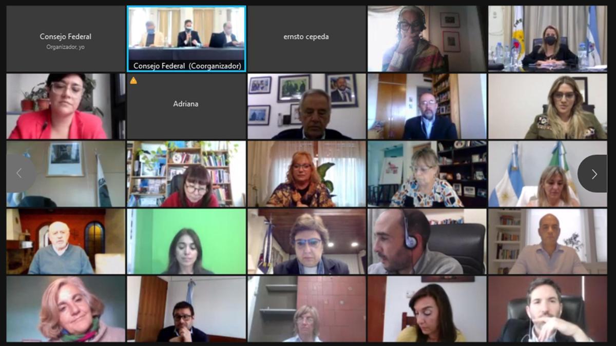 Reunión de Consejo Federal de Educación