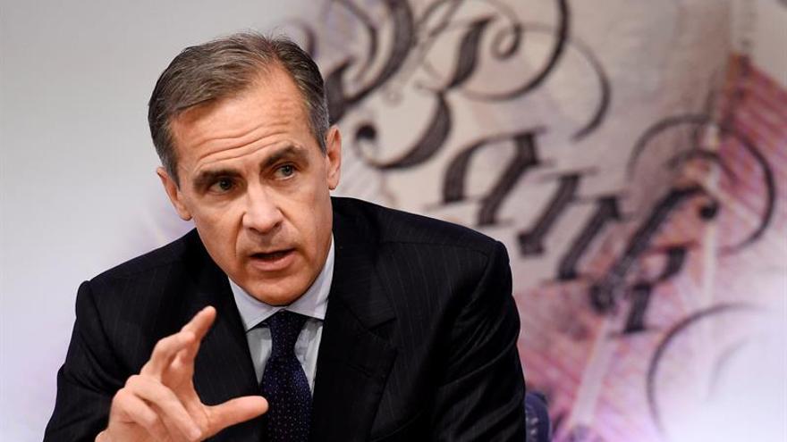 """El Banco de Inglaterra advierte de que el """"brexit"""" pesará en la economía durante algún tiempo"""