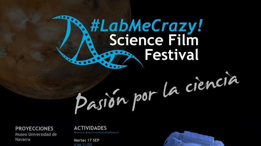 El Museo Universidad de Navarra acogerá, del 17 al 20 de septiembre, el primer '#LabMeCrazy! Science Film Festival'